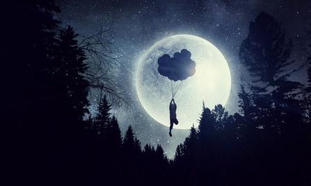 Pleine lune du 3 décembre et bonheur