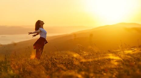 Le soleil : notre remède bonheur