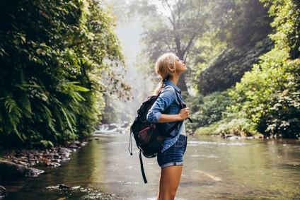 Le bonheur se trouve dans l'environnement naturel