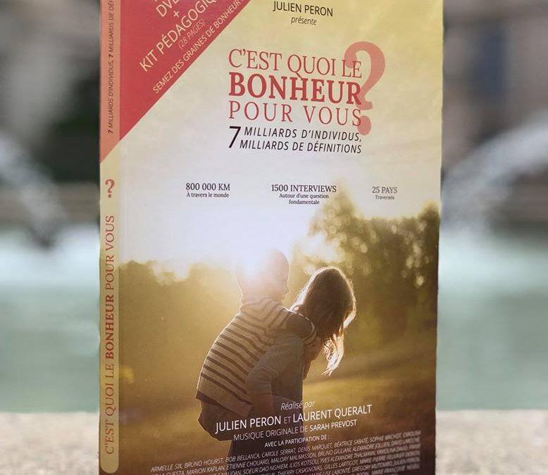 DVD et Kit pédagogique c'est quoi le bonheur pour vous
