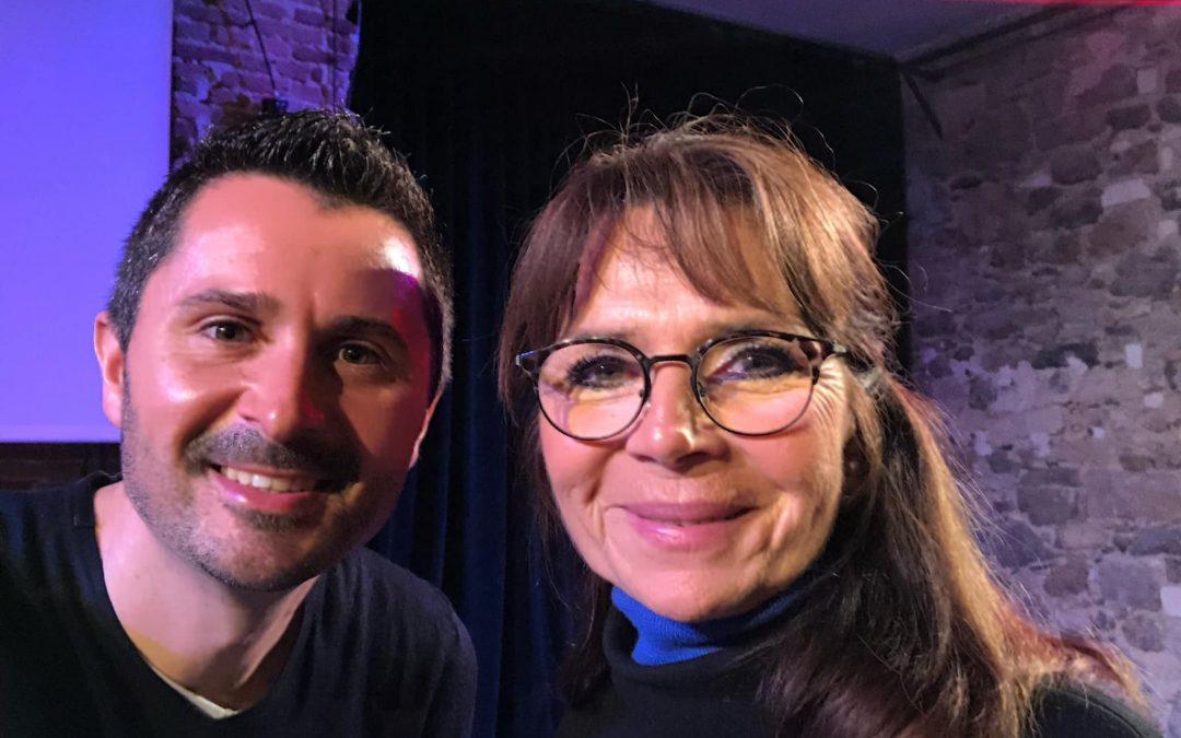 Julien Peron et Marion Kaplan pour le film c'est quoi le bonheur pour vous?