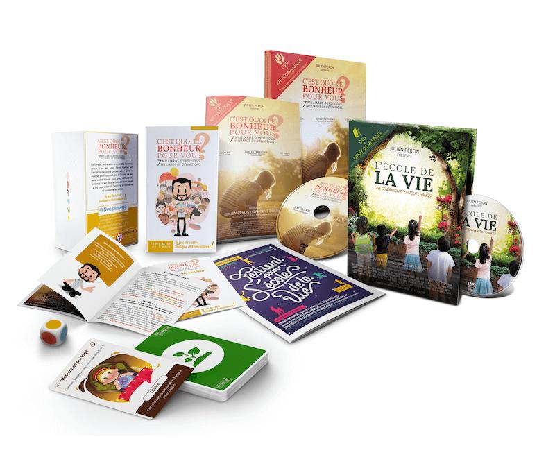 Achetez le DVD plus le kit pédagogique
